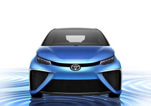 primer Toyota a hidrógeno