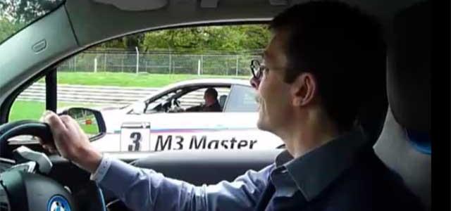 BMW i3 contra BMW M3. Prueba de aceleración