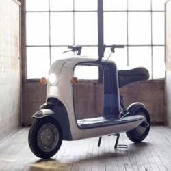 Lit Motors Kubo, un scooter eléctrico práctico