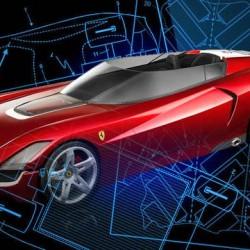El nuevo Ferrari híbrido se deja ver en una patente