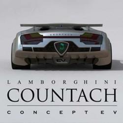 Un Lamborghini Countach eléctrico alimentado por energia solar y eólica