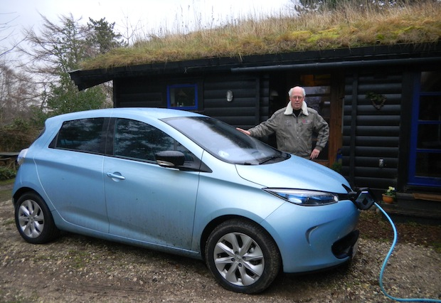 Renault Zoe in Gilleleje