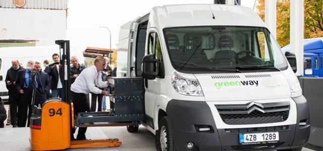 Más de 2.000 kilómetros en 24 horas con una furgoneta eléctrica…con cambio de baterías