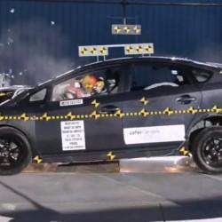 El Toyota Prius 2014 se queda en cuatro estrellas en el crash test americano