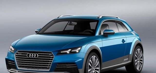 Audi E-Tron Crossover Concept