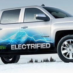 El coche a electrificar es una camioneta pickup