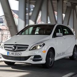 El extra de autonomía del Mercedes Clase B ED será un elemento del equipamiento opcional