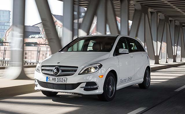Mercedes-Benz B-Klasse Electric Drive / Mercedes-Benz B-Class El
