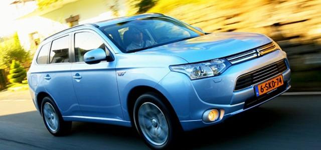 El Mitsubishi Outlander PHEV vuelve a reinar en Holanda