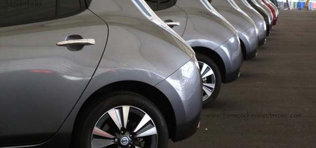 Nissan LEAF. Pastillas de freno casi nuevas con 124.700 kilómetros
