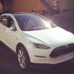 El Tesla Model X cazado durante unas pruebas