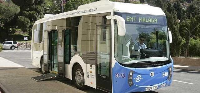 Málaga incorpora tres autobuses eléctricos