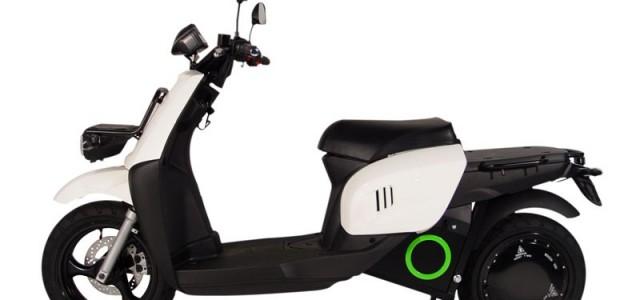 Scooter eléctrico de SCUTUM con batería extraible