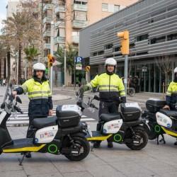 Las motos eléctricas SCUTUM se incorporan la flota de los Servicios Municipales de Barcelona