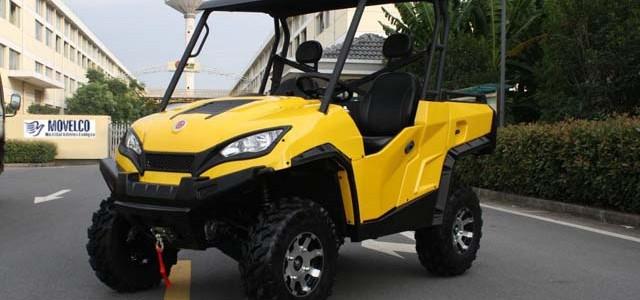 La Junta de Extremadura recibe las primeras unidades del Movelco PANTER 4X4