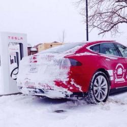 Tesla completa la aventura de cruzar Estados Unidos