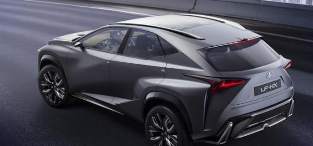 El 20 de abril se presentará el Lexus LF-NX