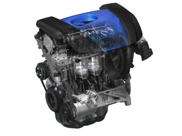 2012 Mazda3 SKYACTIV 2.0 engine