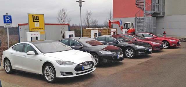 Noruega. Muchos Model S para pocos supercargadores