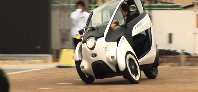 Comienzan las pruebas del Toyota i-Road