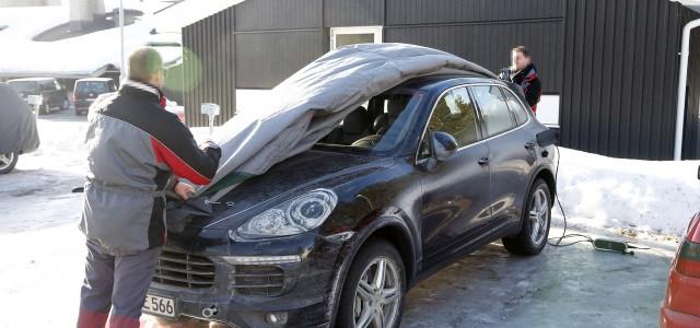 Cazado el Porsche Cayenne híbrido enchufable