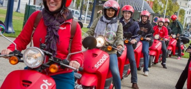 Un Autolib de motos eléctricas para Paris