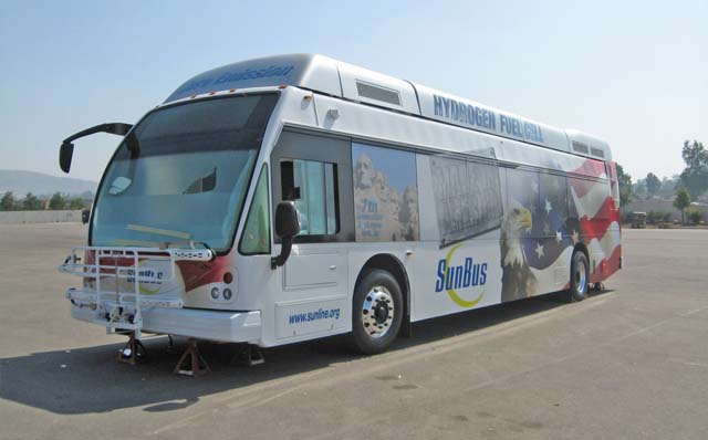 BALLARD POWER SYSTEMS INC. - American Fuel Cell Bus Program