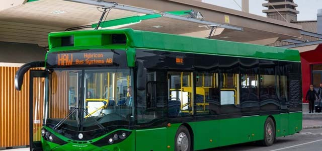 Opbrid Bůsbaar nos muestra una recarga a 625 amperios de su autobús eléctrico
