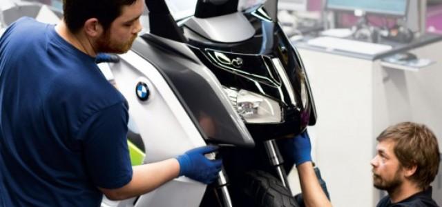 Comienza la producción de la BMW C Evolution