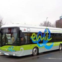 Comienzan las pruebas de los autobuses eléctricos con recarga por inducción de Bombardier