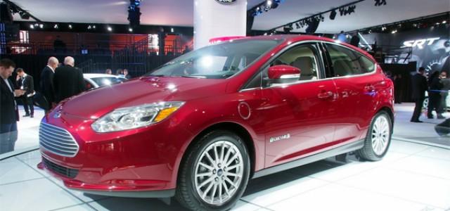 Se presenta el nuevo Ford Focus eléctrico