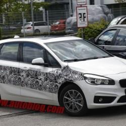 BMW continúa trabajando en el Serie 2 Active Tourer