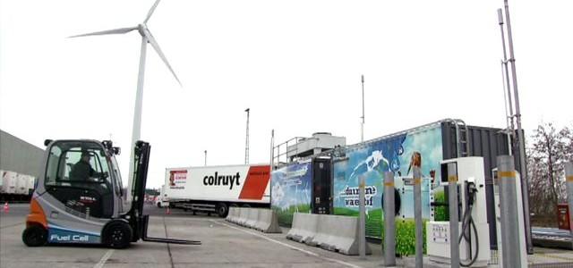 La cadena belga Colruyt adquiere un Hyundai ix35 Fuel Cell