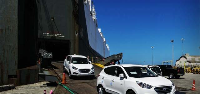 Desembarcan los primeros Hyundai ix35 a hidrógeno