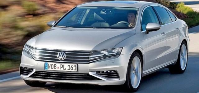 Nuevo Volkswagen Passat. Llegará a finales de año, y con una versión híbrida enchufable