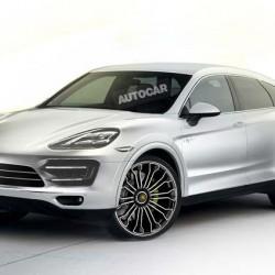 Porsche prepara un Cayenne Coupe enchufable