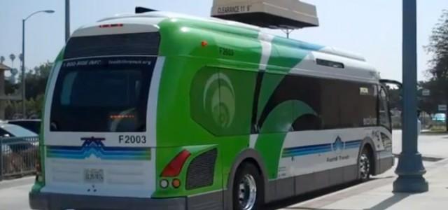 El autobús eléctrico de Proterra recorre más de 1.000 kilómetros en una jornada