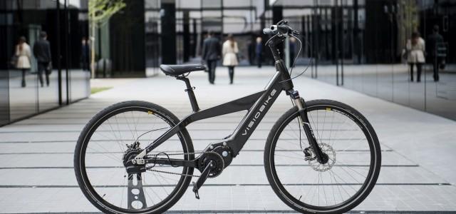 Visiobike. La bicicleta eléctrica de fibra de carbono, que se conecta a nuestro smartphone