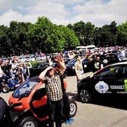 Wave 2014. La mayor concentración de coches eléctricos del mundo logra el récord Guinness