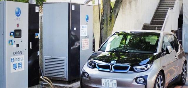 El BMW i3 prueba con CHAdeMO en Japón