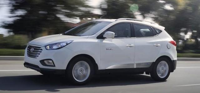 Se entrega el primer Hyundai ix35 a hidrógeno