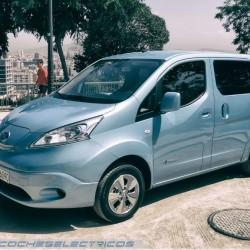La Nissan e-NV200 recibirá una actualización en 2018. Batería de 40 kWh y 283 kilómetros de autonomía