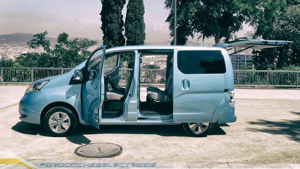 prueba de la nissan e nv200 evalia forococheselectricos. Black Bedroom Furniture Sets. Home Design Ideas