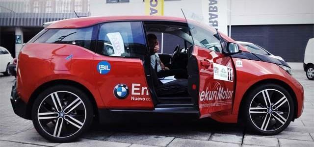 El BMW i3 se hace con el primer puesto en el VI Rally Vasco-Navarro