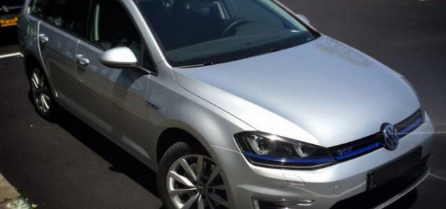 Avistado un Volkswagen Golf GTE familiar