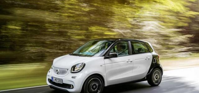 El Smart ForFour eléctrico llegará en 2016