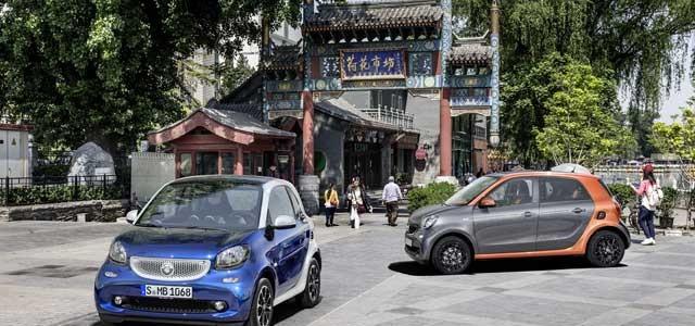 Se presenta la nueva generación del Smart ForTwo y ForFour: versión eléctrica de camino