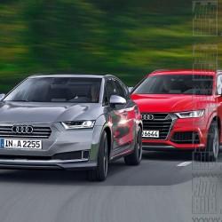 Audi AQ2 y Audi Q6. Dos todocaminos eléctricos para enfrentarse a BMW y Tesla