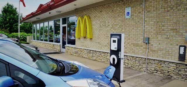 En Estados Unidos ya hay más puntos de recarga que McDonalds