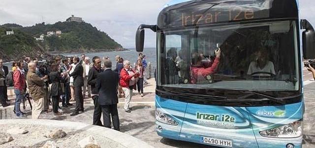 Irizar presenta su primer autobús eléctrico